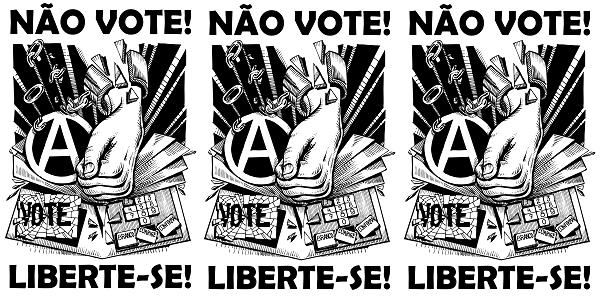 Don't vote - Nao vote - Flyer by Fenikso Nigra - IFA Brasil