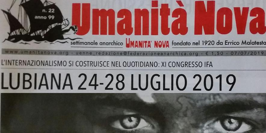 Umanita cover IFA Congress 2019 image