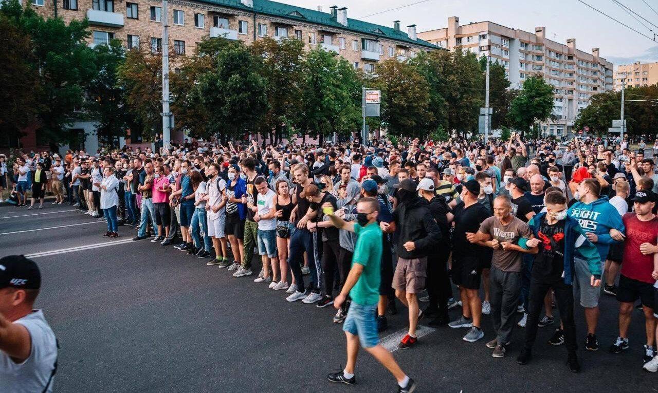Protest in Belarus 2020